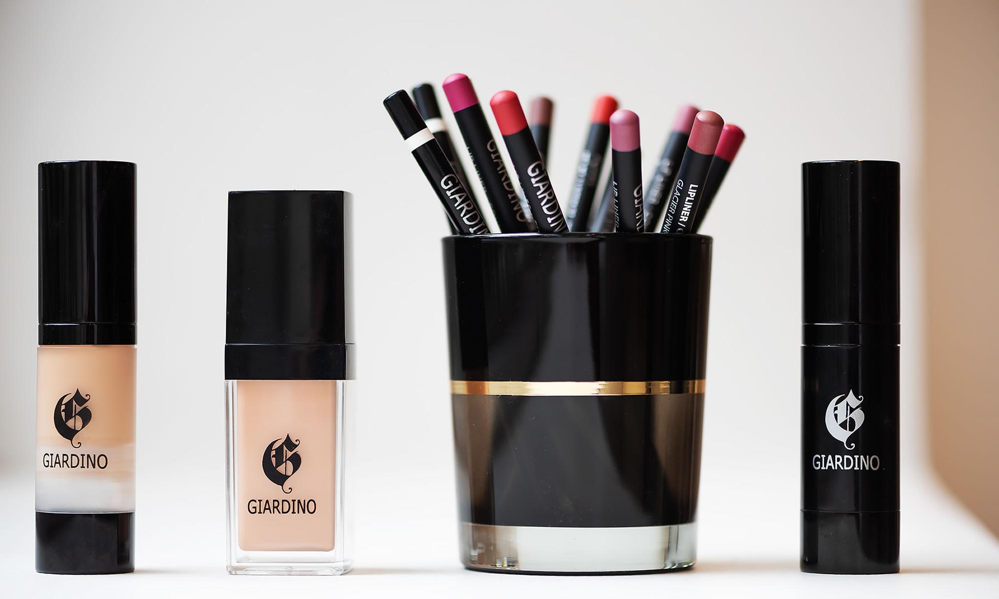 Giardino makeup line